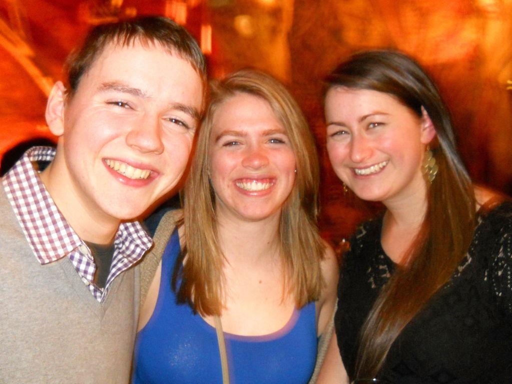 Tash, Chris & Katelyn