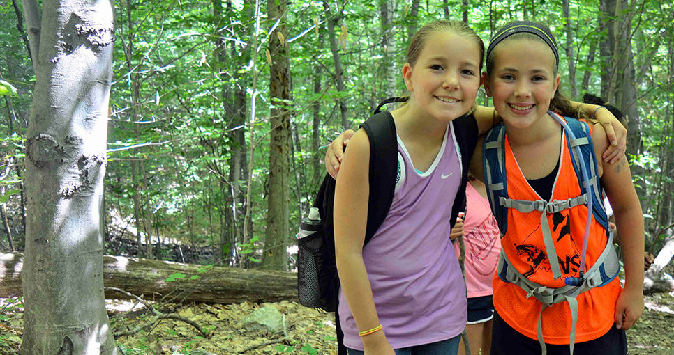 Hiking and Tripping at Overnight Summer Camp for Kids ...