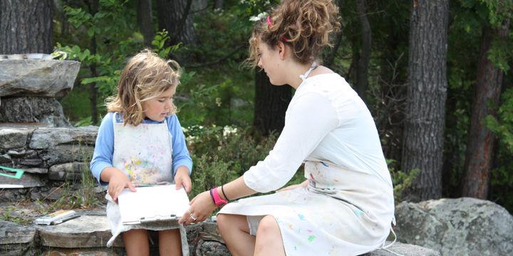Young-girl-at-summer-camp